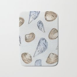 Mussels and Clams Bath Mat