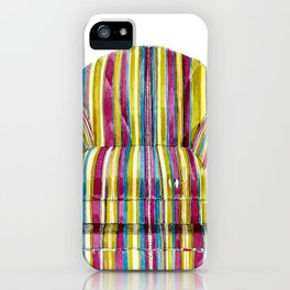Last Chair Before Niagara Falls. iPhone Case