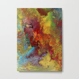 Color Fantasy Metal Print