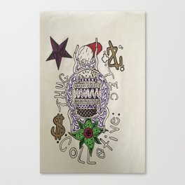 Collective Canvas Print