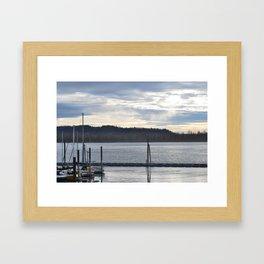 waiting to ex sail Framed Art Print