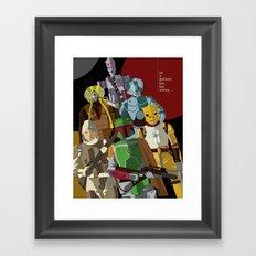 Bounty Hunters Framed Art Print