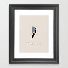 Yellow-Dumped Warbler Framed Art Print
