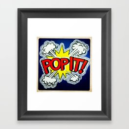 So Pop ! Framed Art Print