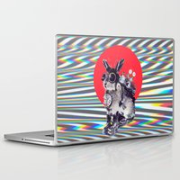 pixar Laptop & iPad Skins featuring Time Traveller by Ali GULEC