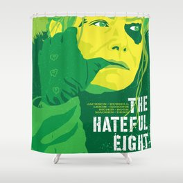 Quentin Tarantino's Plot Movers :: The Hateful Eight Shower Curtain
