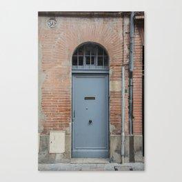 Door number thirty Canvas Print