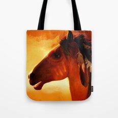 HORSE - Apache Tote Bag
