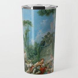 """François Boucher """"Shepherd's Idyll"""" Travel Mug"""