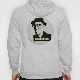 William S. Burroughs Record Painting Hoody