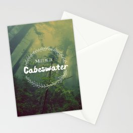 Meet me in Cabeswater Stationery Cards