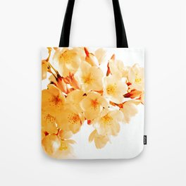 WARM BLOSSOMS Tote Bag