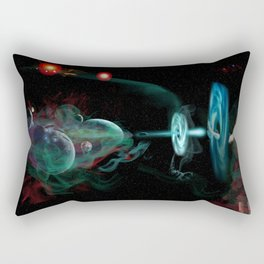 Destruction of the Universe Rectangular Pillow