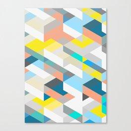 Bold Halequin Canvas Print
