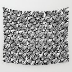 Zentangle Paradox  Wall Tapestry