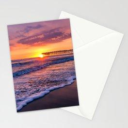 Sunset & Foamy Wave Stationery Cards