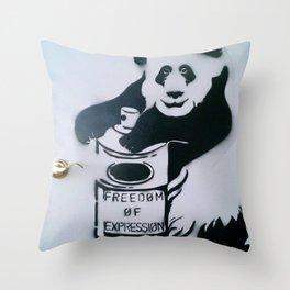 Let Freedom Spray Throw Pillow