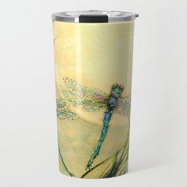 Dragonfly Moon  Travel Mug