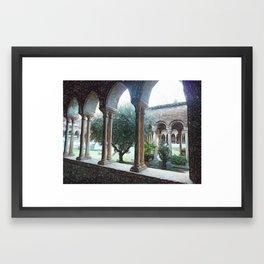 Spiritual place Framed Art Print