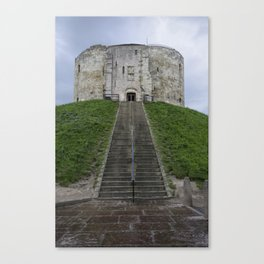 Clifford's tower Canvas Print