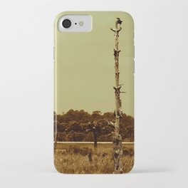 Lonely Crow iPhone Case