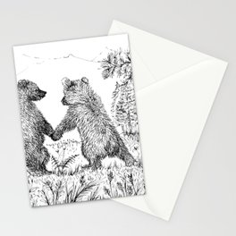 Cute Bears Stationery Cards