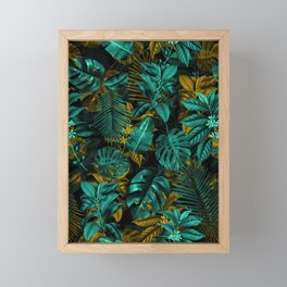 TROPICAL GARDEN VII Framed Mini Art Print