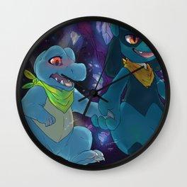 Crystal Caverns Wall Clock