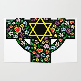 Cross of David Rug