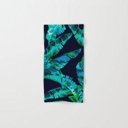 Tropical addiction - midnight grunge Hand & Bath Towel