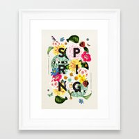 spring Framed Art Prints featuring SPRING by Dawn Gardner