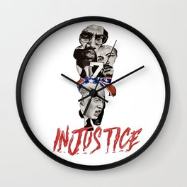 INJUSTICE Wall Clock
