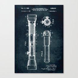 1956 - Telescope rifle sight and lens tube Canvas Print