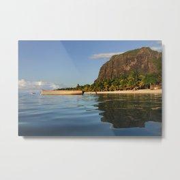 Le Morne Beach, Mauritius Metal Print
