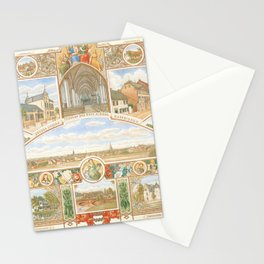 Vintage greeting from Opladen Stationery Cards