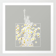 Give Me Liberty or Give Me Daisies Art Print