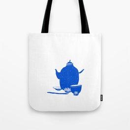 Tea Set Tote Bag