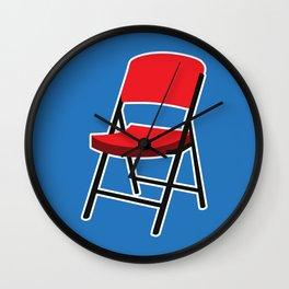 Folding Chair Wall Clock