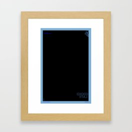 The Chocolate Giant Look Book Poster Series_Konichiwa Bitches Framed Art Print