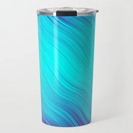Stripes Wave Pattern 10 bt Travel Mug