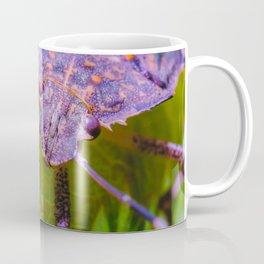 Marmorated Stink Bug. Macro Photograph Coffee Mug