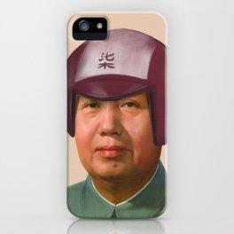 Helmet Mao iPhone Case