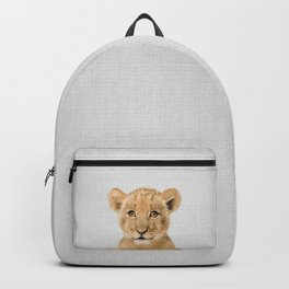 Baby Lion - Colorful Backpack