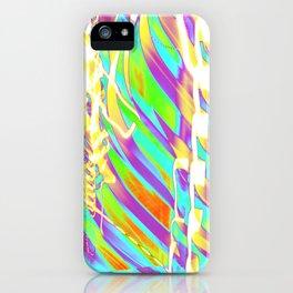 Light Dance Candy Ribs edit1 iPhone Case