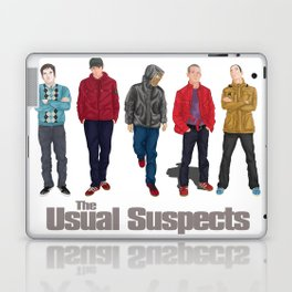 The Usual Suspect casual fashion style Laptop & iPad Skin