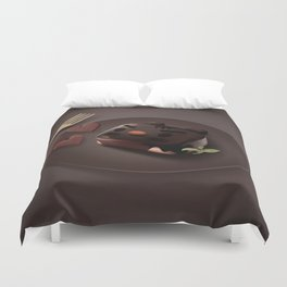 Chocolate Brownie Duvet Cover