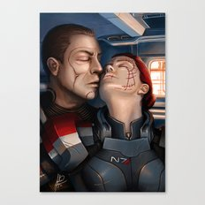 Mass Effect - A moment alone. Canvas Print
