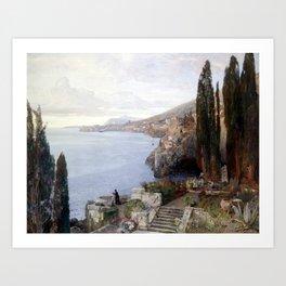 Blick auf Ragusa Art Print