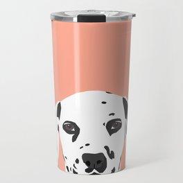 Casey - Dalmation art print phone case decor for pet lover and dog lover Travel Mug