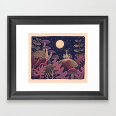 Night Music Framed Art Print